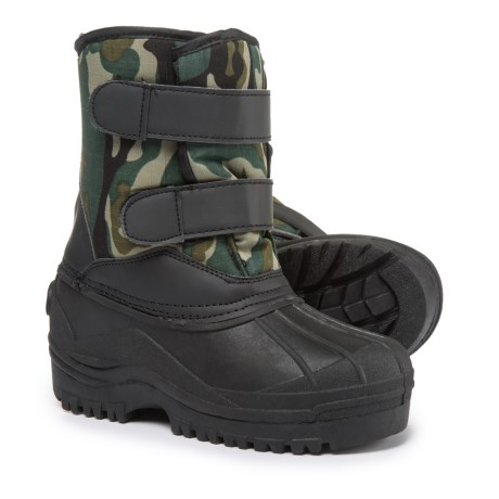 Capelli New York Camo Snow Boots (For Boys)