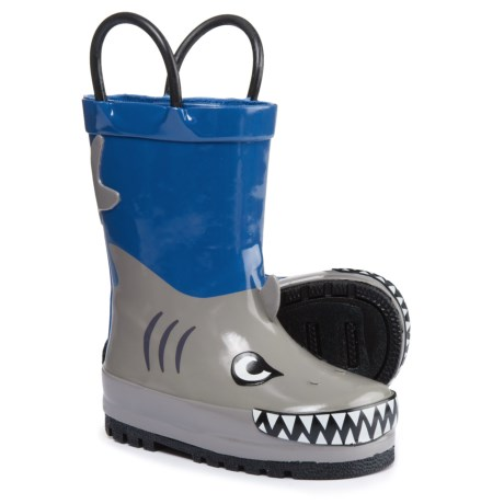 Capelli Shark Runner Rain Boots - Waterproof (For Infant and Toddler Boys)