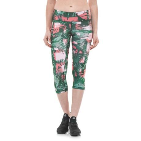 Gerry Jungle Print Capris - UPF 30+ (For Women)