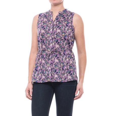 Woolrich Twin Pines Eco Rich Shirt - Organic Cotton, Sleeveless (For Women)