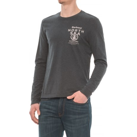 Barbour Printed T-Shirt - Long Sleeve (For Men)