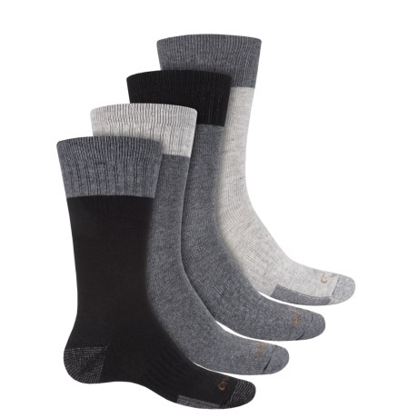 Carhartt Midweight Work Socks - 4-Pack, Crew (For Men)