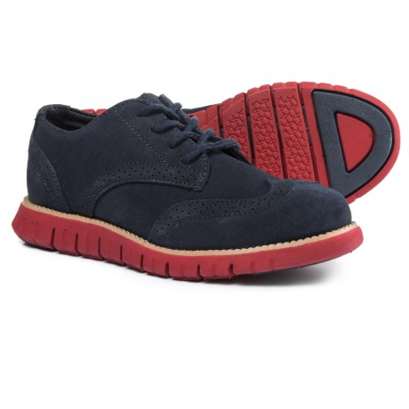 Cole Haan Cole Hann Zerogrand Oxford Shoes - Suede (For Boys)