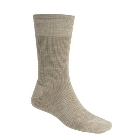 SmartWool Nailhead Grid Casual Socks - Merino Wool, Crew (For Men)