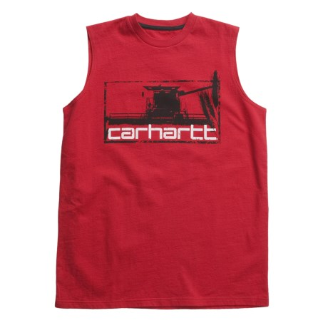 Carhartt Combine T-Shirt - Sleeveless (For Boys)