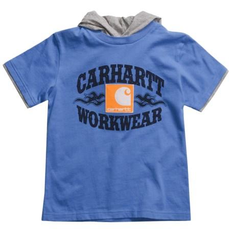 Carhartt Hooded T-Shirt - Short Sleeve (For Boys)