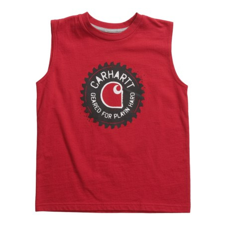 Carhartt Geared T-Shirt - Sleeveless (For Little Boys)