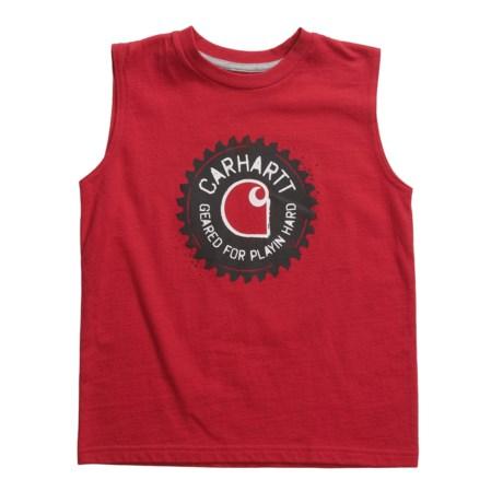 Carhartt Geared T-Shirt - Sleeveless (For Little Boys)