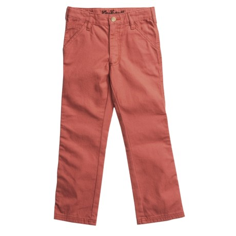 Carhartt Washed Dungaree Pants (For Girls)