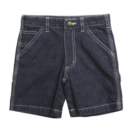 Carhartt Washed Dungaree Shorts (For Toddler Girls)