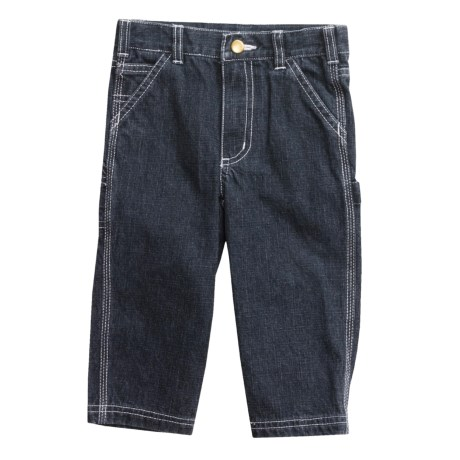 Carhartt Washed Dungaree Pants (For Infant Girls)
