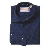 Mason's Fancy Cotton Sport Shirt - Long Sleeve (For Men)