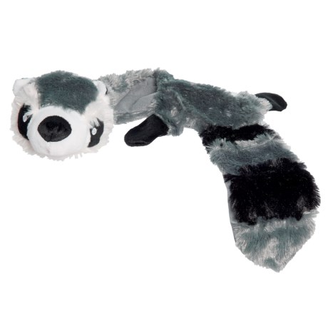 Hyper Pet Critter Skinz Raccoon Dog Toy - Extra Large, Stuffing Free