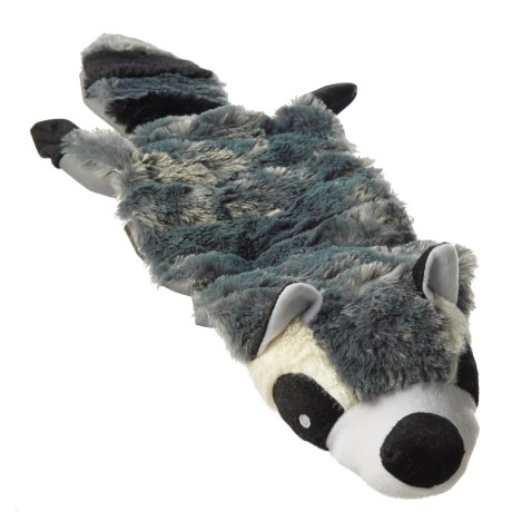 Hyper Pet Critter Skinz Super Squeaker Raccoon Dog Toy - Extra Large