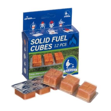 Bleuet Solid Fuel Cubes - 12-Piece