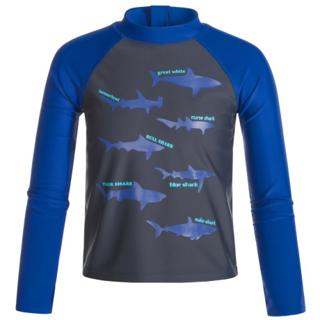 Mott 50 50 Mini Max Swim Shirt - Long Sleeve (For Big Boys)