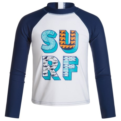Mott 50 50 Mini Max Swim Shirt - UPF 50, Long Sleeve (For Infants Boys)