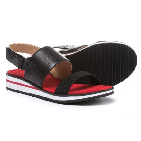 Adrienne Vittadini Sport Piera Sandals - Leather (For Women)