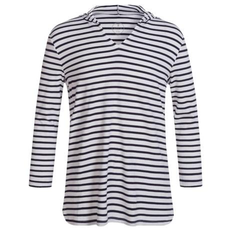 Mott 50 Mini Nancy Swim Cover-Up Hoodie Shirt - UPF 50, Long Sleeve (For Toddler Girls)