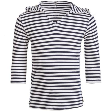 Mott 50 Mini Nancy Hooded Cover-Up Hoodie Shirt - UPF 50, Long Sleeve (For Toddler Girls)