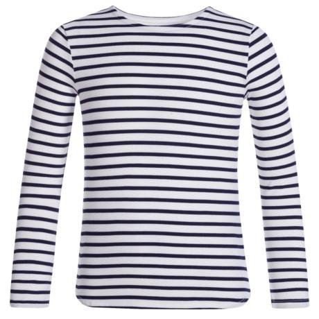 Mott 50 Mini Michelle T-Shirt - UPF 50, Crew Neck, Long Sleeve (For Big Girls)