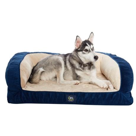 "Serta Orthopedic Couch Dog Bed- 39x29"""