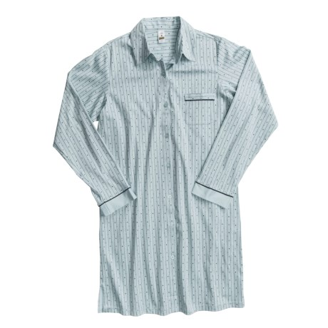 Most comfortable sleep shirt review of calida charisma Long cotton sleep shirts