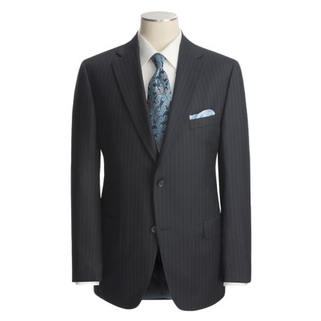 Jack Victor Stripe Suit - Wool (For Men)