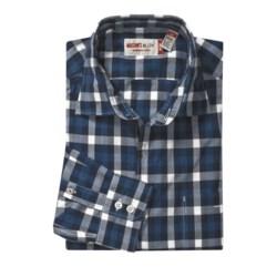 Mason's Check Trim Fit Sport Shirt - Cotton, Long Sleeve (For Men)