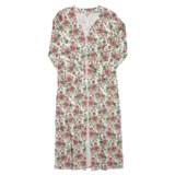 Amadora Rib-Knit Cotton Robe - Long, Zip Front, 3/4 Sleeve (For Women)