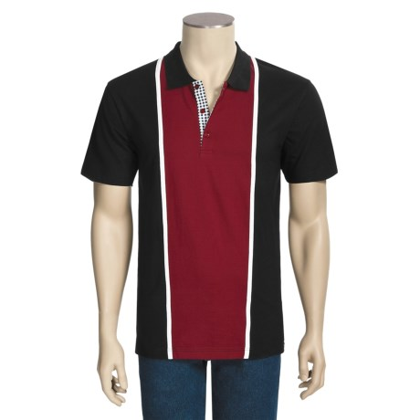 Calida Therma Liberty Polo Shirt - Cotton, Short Sleeve (For Men)