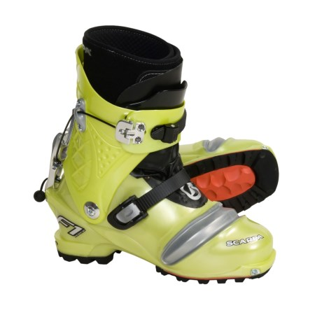Scarpa F1 Race AT Ski Boots (For Men and Women)