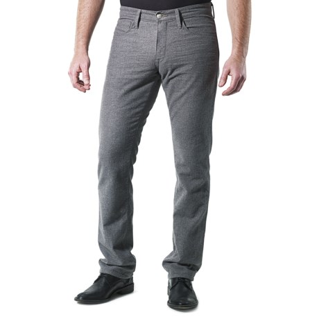 Agave Denim Pragmatist Grey Flannel Jeans - Classic Fit (For Men)