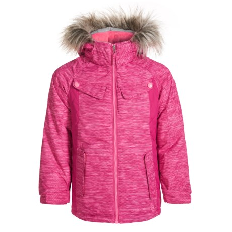 Free Country Boarder Ski Jacket - Insulated (Little Girls)