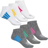 Hind No-Show Socks - 6-Pack, Below the Ankle (For Women)