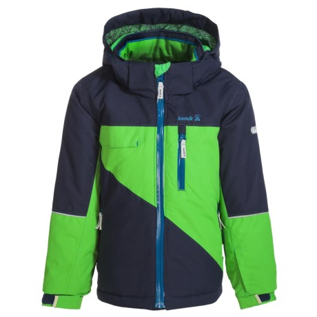 Kamik Rufus Color-Block Ski Jacket - Waterproof, Insulated (For Little Boys)