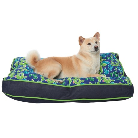 Cynthia Rowley Cacti Rectangle Dog Bed - 27x36""