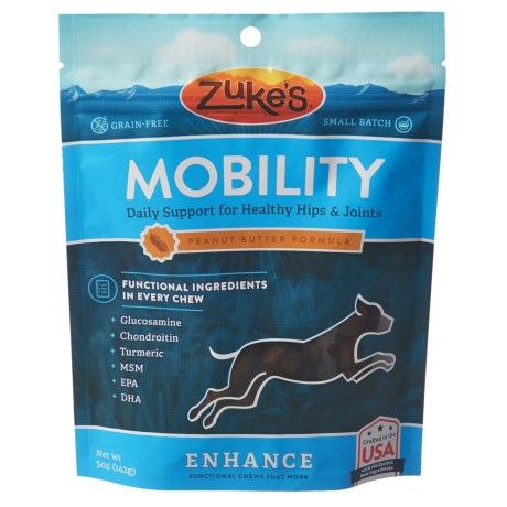 Zuke's Zuke's Enhance Mobility Peanut Butter Formula Dog Treats - 5 oz.