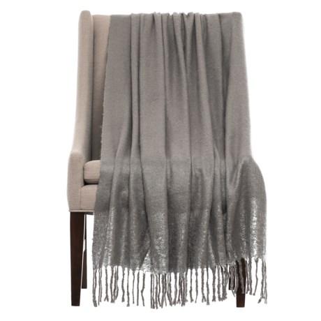 """THRO Ryan Foil-Print Throw Blanket - 50x60"""""""
