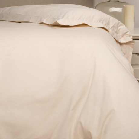 Bambeco Organic Cotton Sateen Duvet Cover - Twin, 500 TC