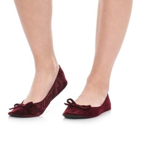 Cabeau Portable Pocket Ballet Flats (For Women)