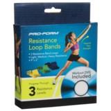 Pro-Form Resistance Loop Bands - 4-Piece Set