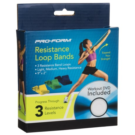 Proform Pro-Form Resistance Loop Bands - 4-Piece Set