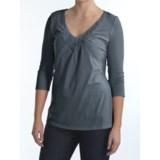 Two Star Dog Marissa Shirt - Stretch Jersey, 3/4 Sleeve (For Women)