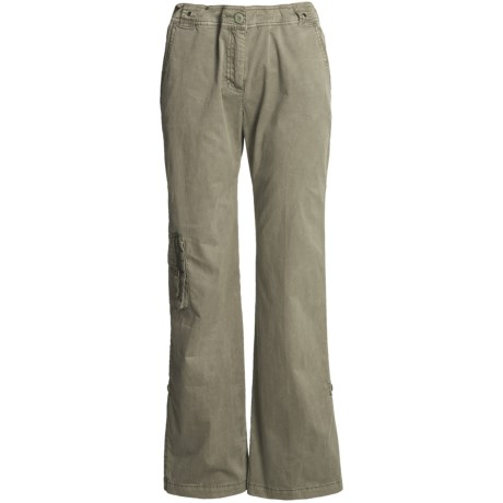 Two Star Dog Julie Convertible Pants - Stretch Cotton Twill (For Women)