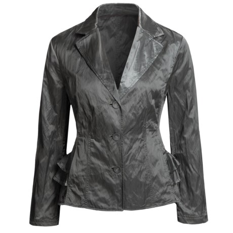 Two Star Dog Nadia Jacket - Metallic Cotton Sateen (For Women)