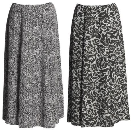 Madison Hill Reversible Crepe Skirt (For Women)