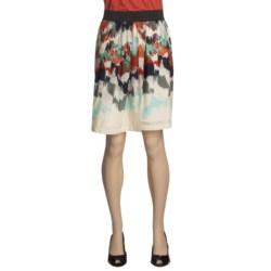Two Star Dog Virginia Skirt - Monaco Print, Voile, Pleated (For Women)