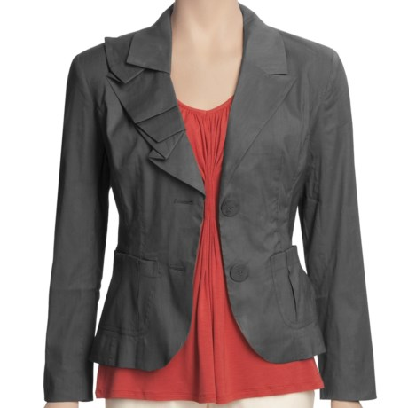 Two Star Dog Maddie Jacket - Stretch Linen (For Women)
