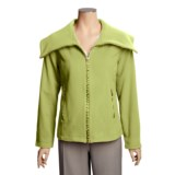 Madison Hill Ultrasoft Wool Jacket - Zip Front (For Women)
